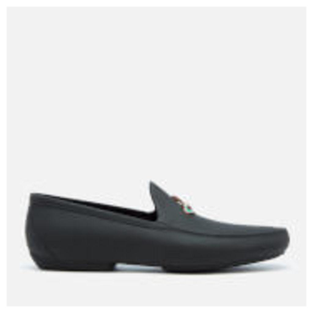Vivienne Westwood MAN Men's Orb Moccasin Shoes - Black