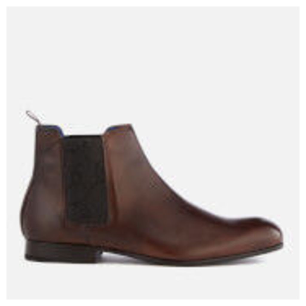 Ted Baker Men's Kayto Leather Chelsea Boots - Brown