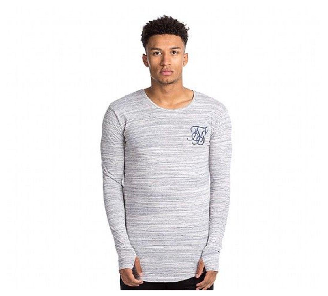 High Definition Long Sleeve Marl T-Shirt