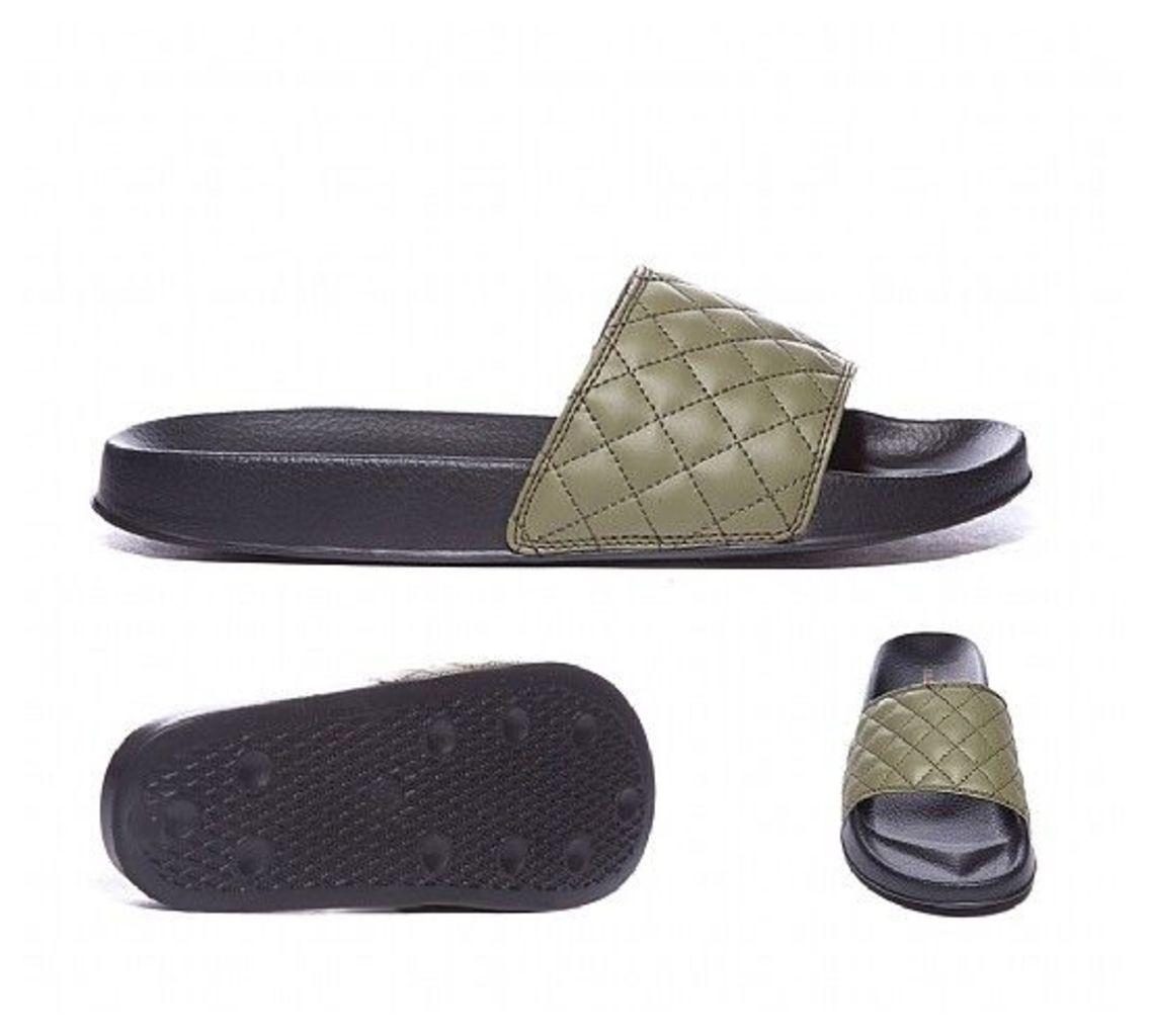 Quilt Slide Sandal