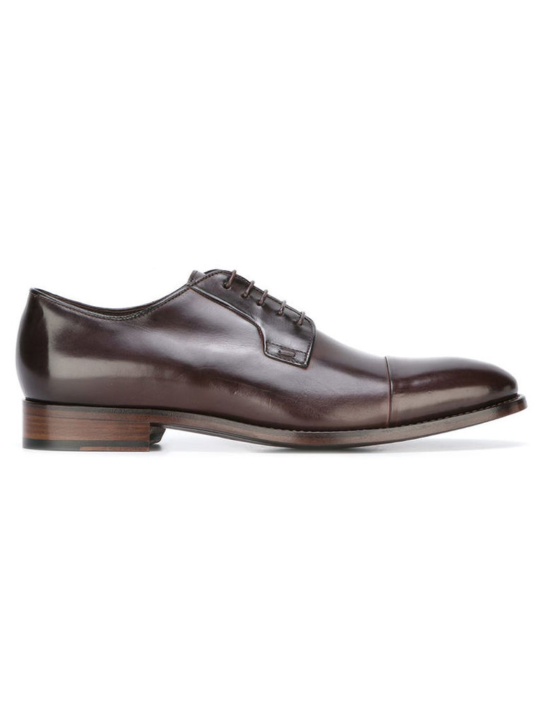 Paul Smith - classic derby shoes - men - Leather - 9, Brown