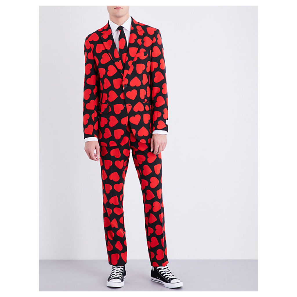 King of Hearts regular-fit woven suit