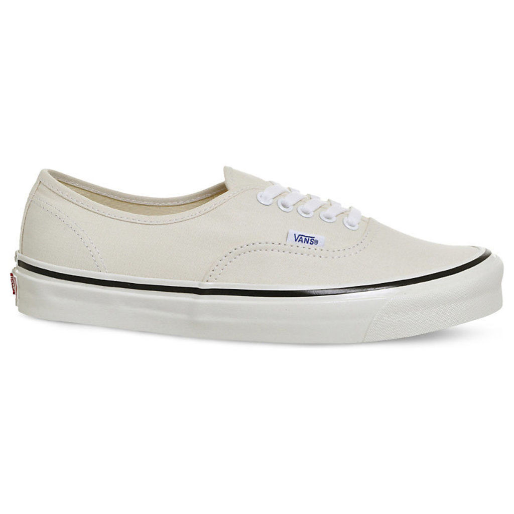 Vans Authentic 44 DX canvas trainers, Mens, Size: 6, White