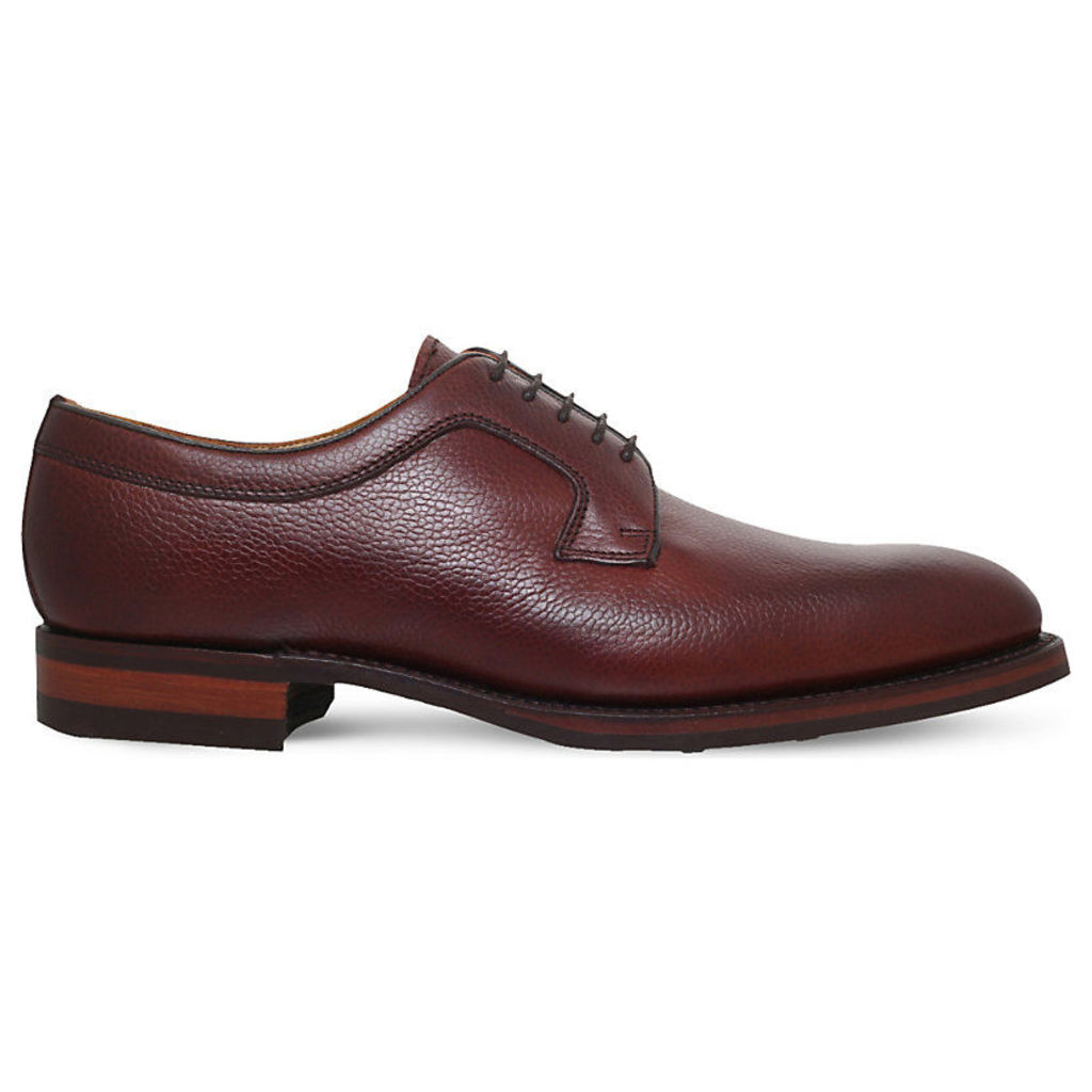 Skye plain leather derby shoes