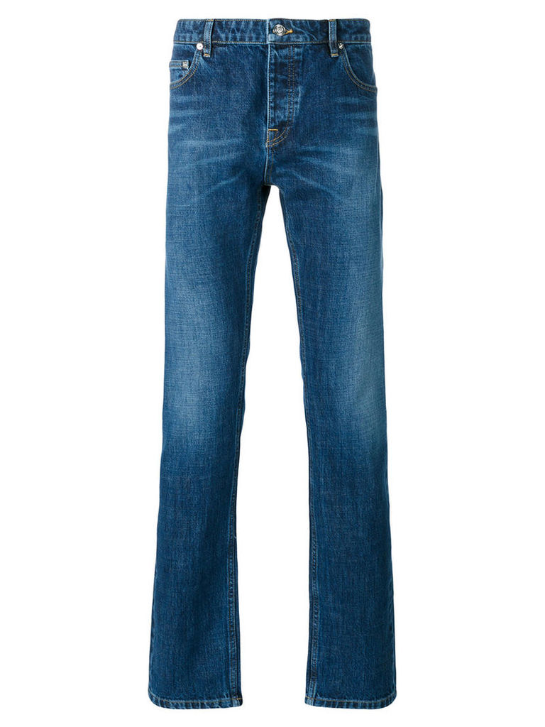 Kenzo - washed denim jeans - men - Cotton/Polyester - 31, Blue