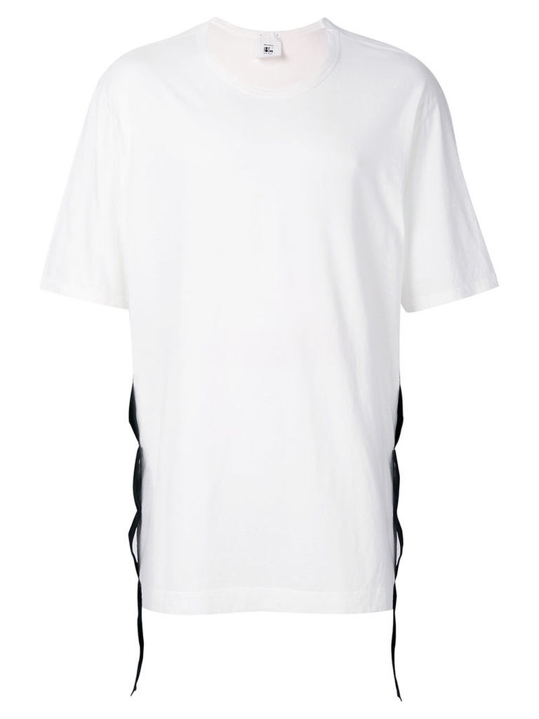 Lost & Found Rooms - Taped T-shirt - men - Polyester/Cotton - S, White