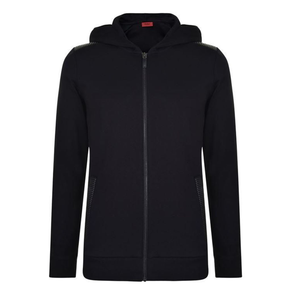 HUGO BY HUGO BOSS Dellagio Biker Hooded Zip Sweatshirt
