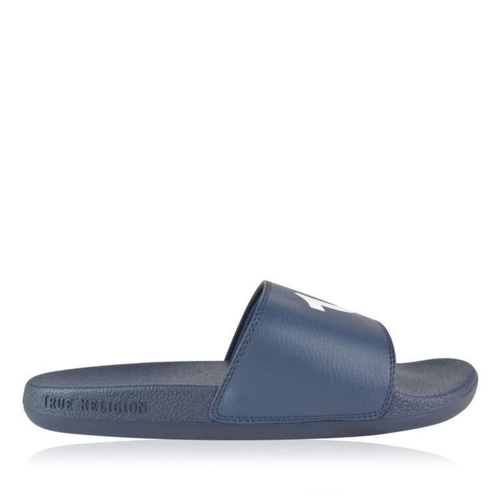 TRUE RELIGION Horseshoe Sliders