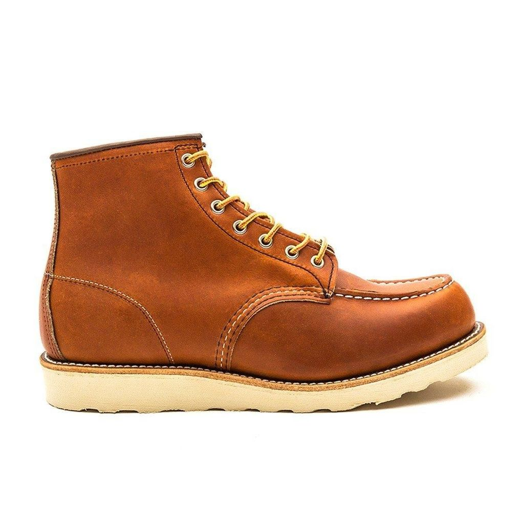 Brown Red Wing Moc Toe Boot Mens