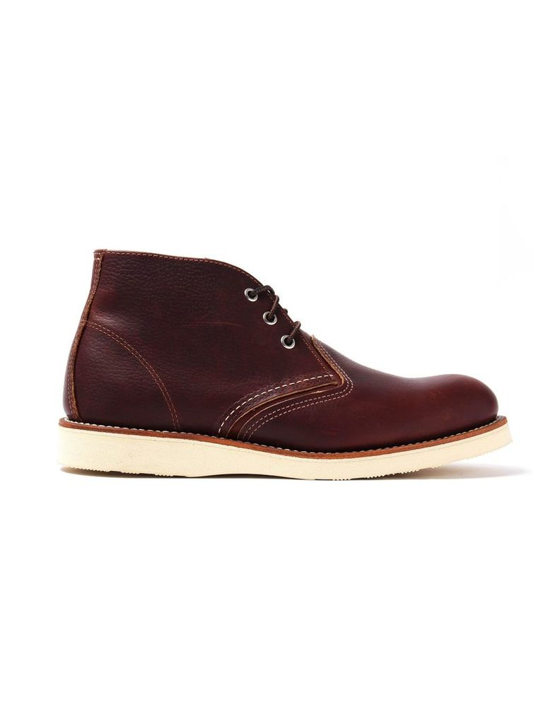 Brown Red Wing Chukka Mens