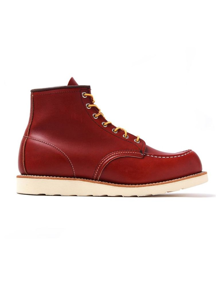 Red Red Wing Moc Toe Boot Mens Dark
