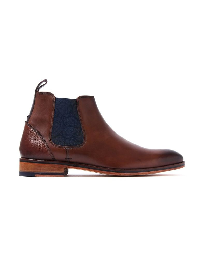 Men's Camroon 4 Leather Chelsea Boots - Brown
