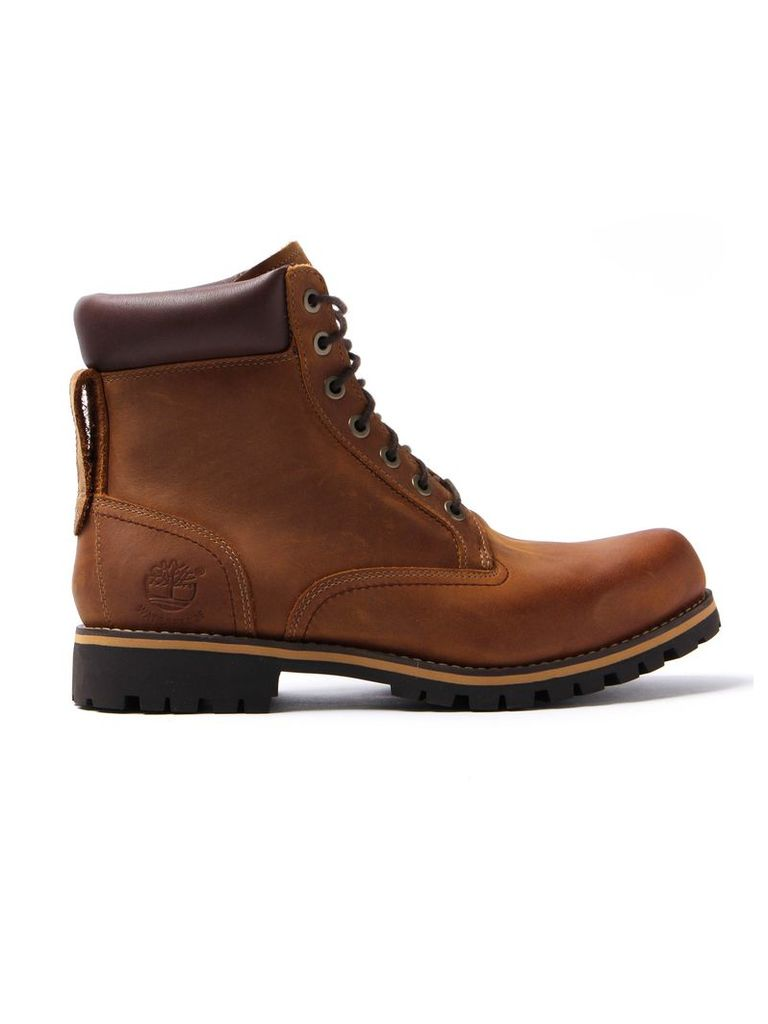 Brown Timberland 6 Rugged Waterproof Boot
