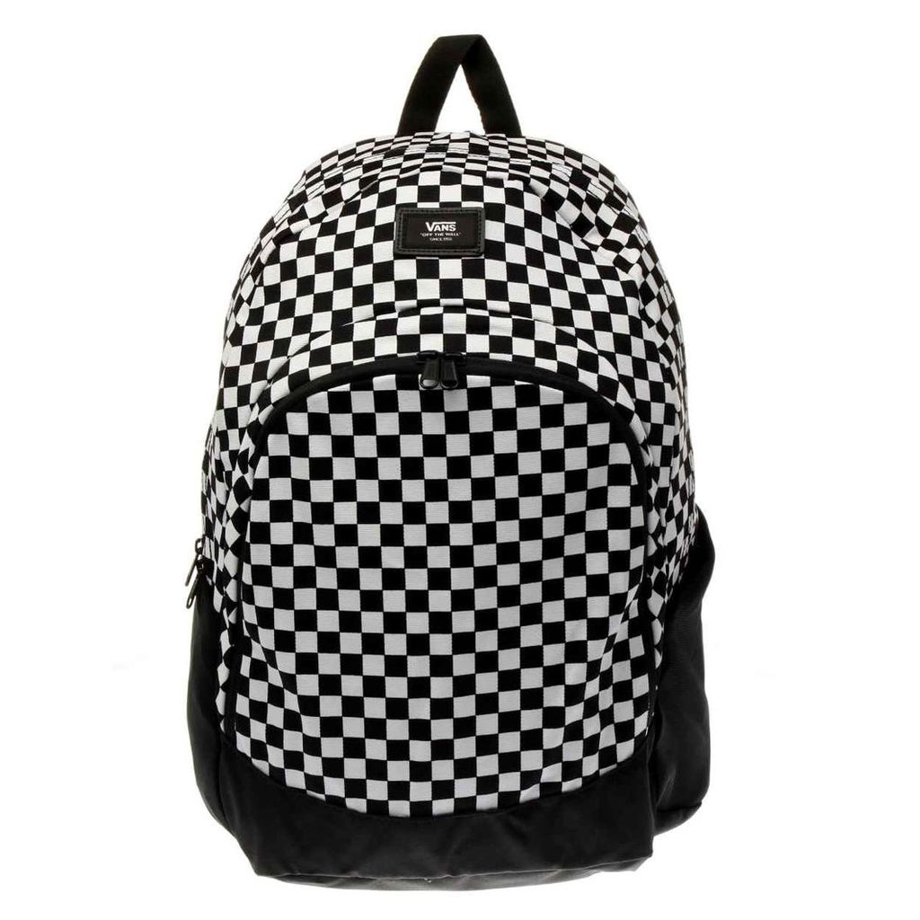 vans black & white doren original backpack bags