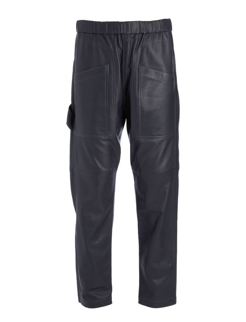 Matt Nappa Leather Parret Trousers