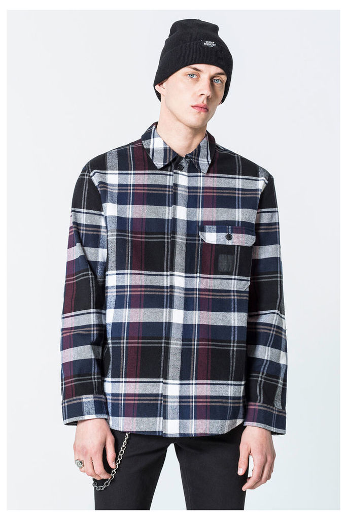 Greed Check Flannel Shirt