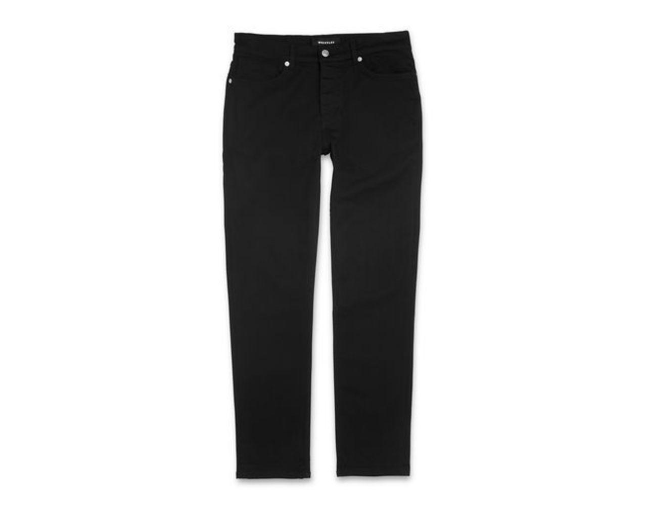 True Black Slim-Fit Jeans