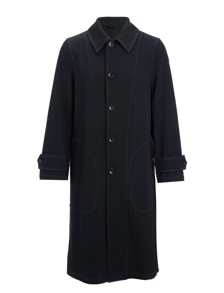 Wool Cotton Twill East Coat