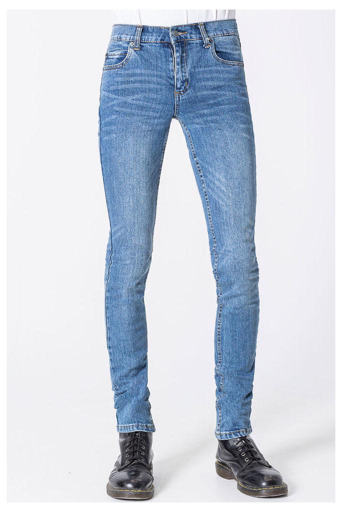 Tight Dark Clean Wash Jeans