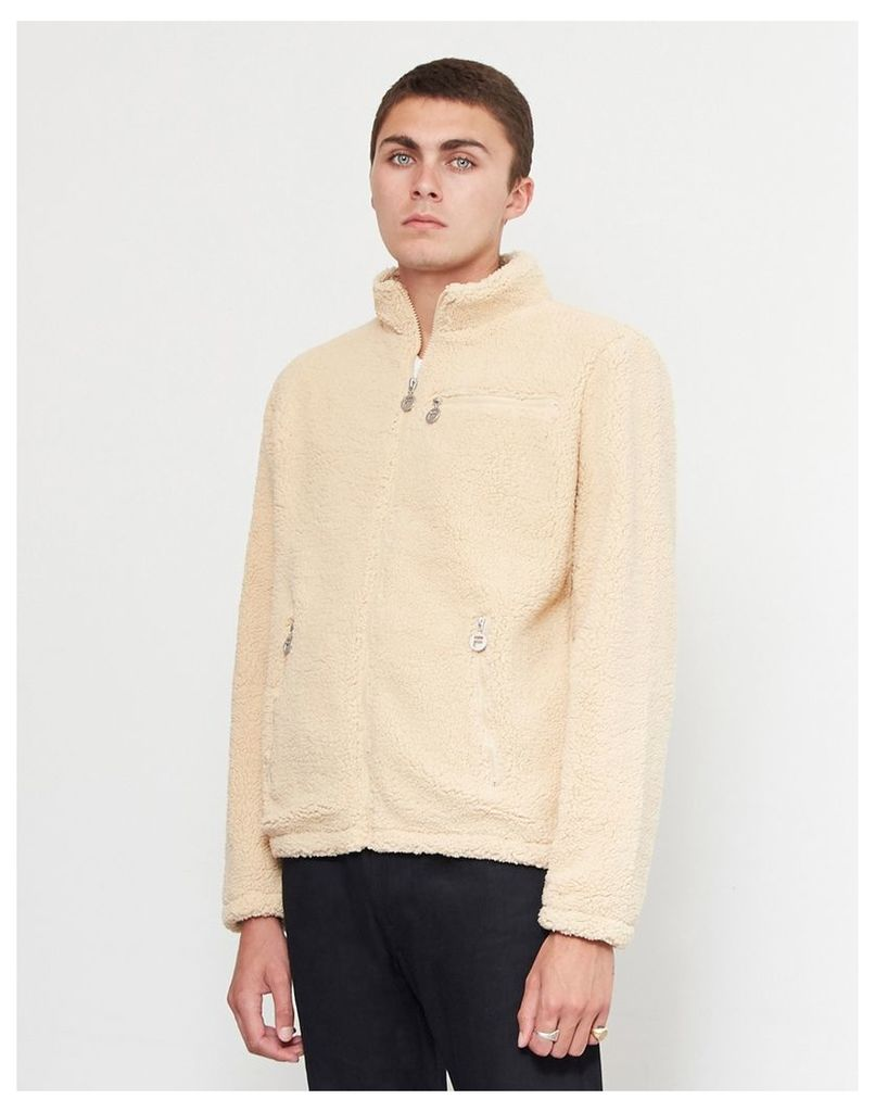 Fila Finlay Fleece Jacket Off White