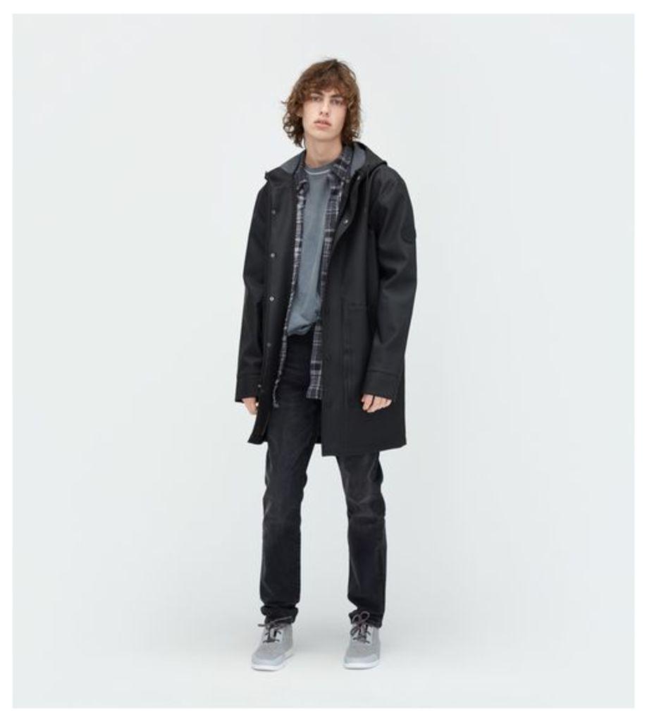 UGG Rain Jacket Mens Outerwear Black L