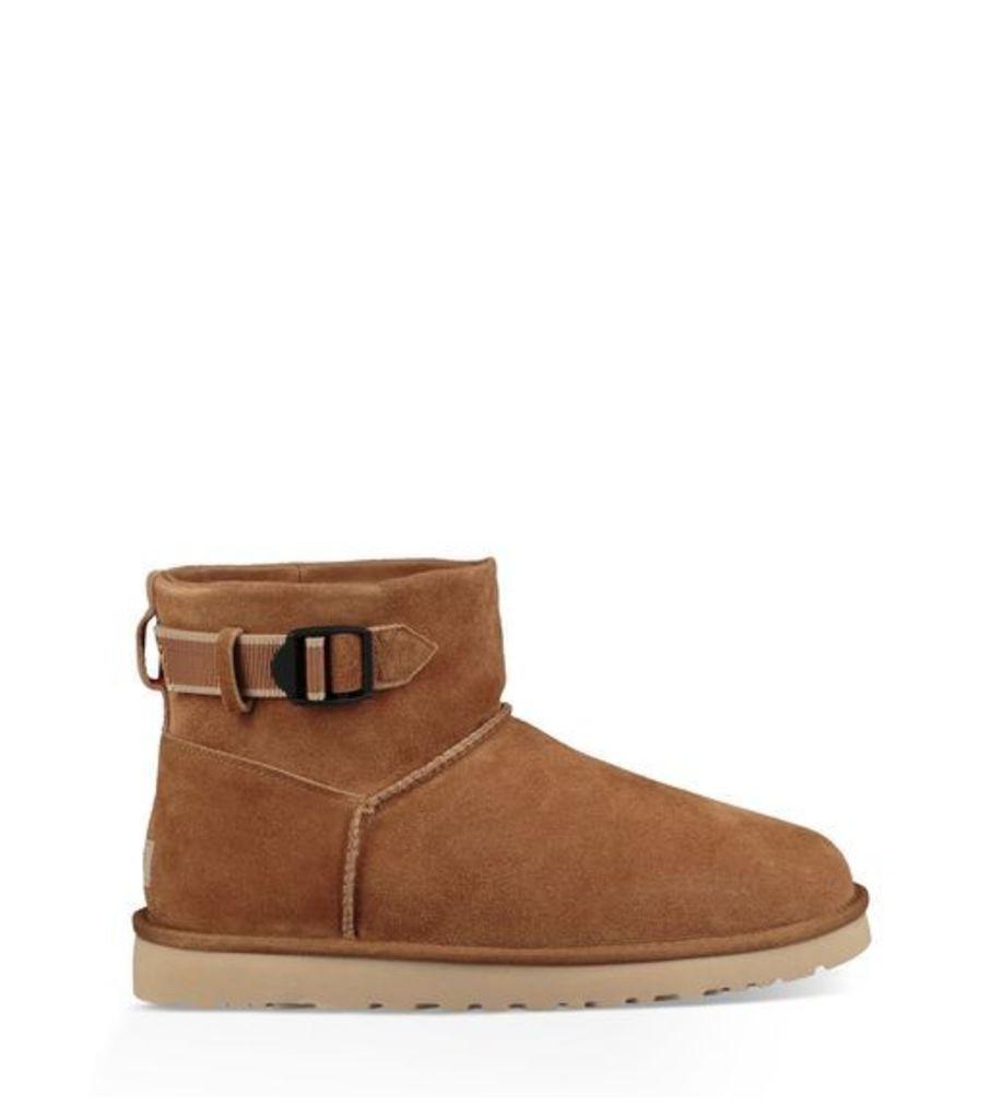 UGG Classic Mini Strap Mens Boots Chestnut 8