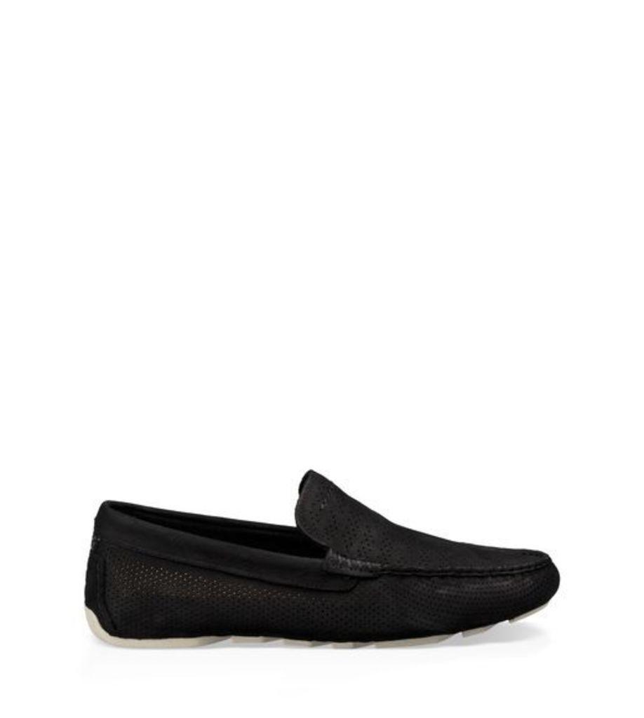 UGG Henrick Stripe Perf Mens Shoes Black 7