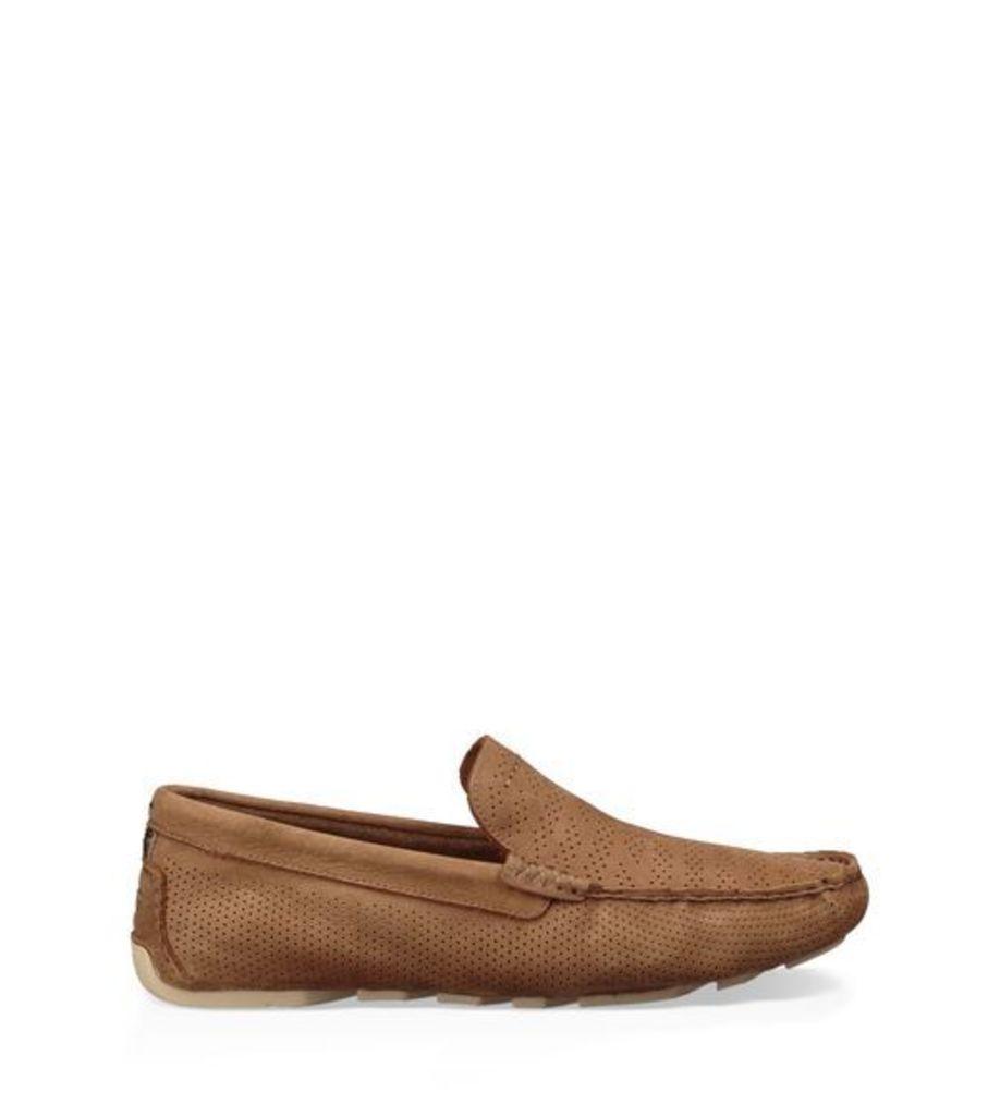UGG Henrick Stripe Perf Mens Shoes Tamarind 6