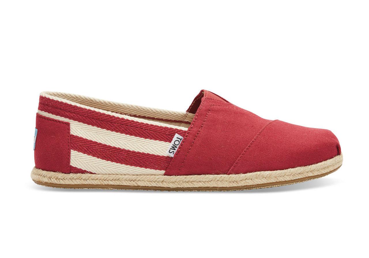 Red Stripe Men's University Classics