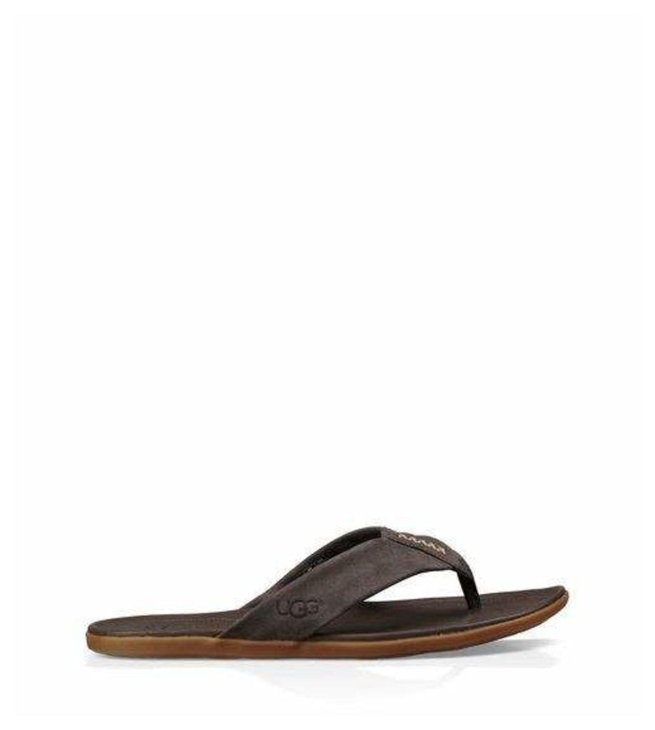 UGG Delray Mens Sandals Charcoal 7