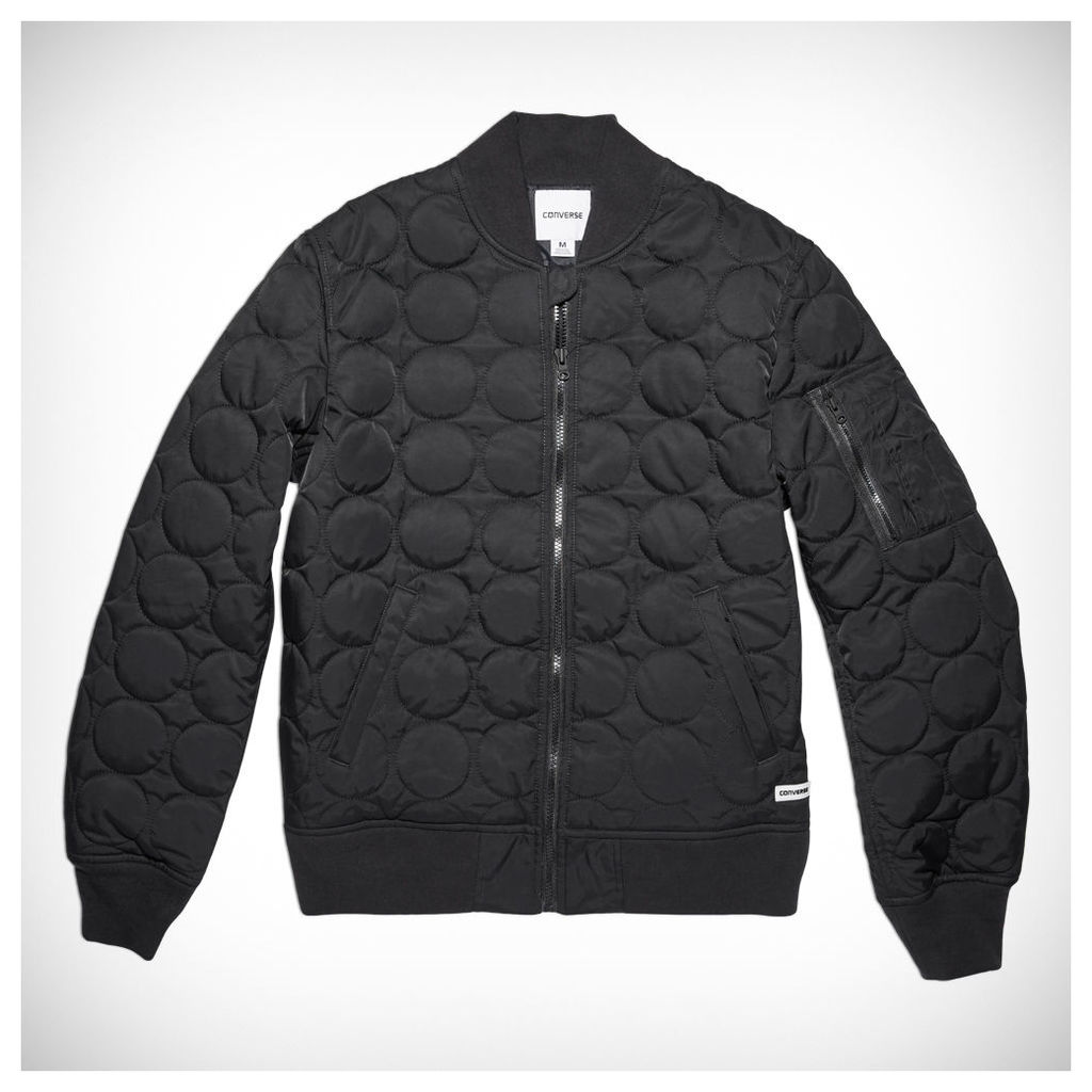 Men's Quilted Shield Bomber