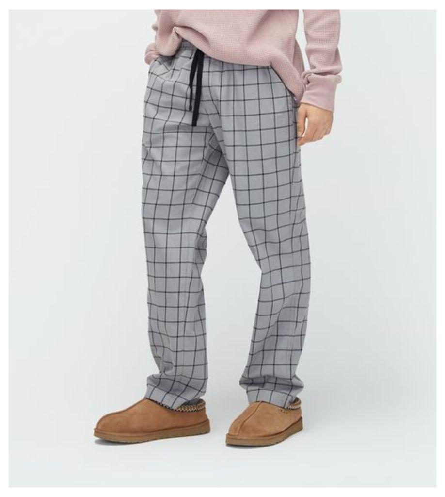 UGG Flynn Check Mens Loungewear Seal S