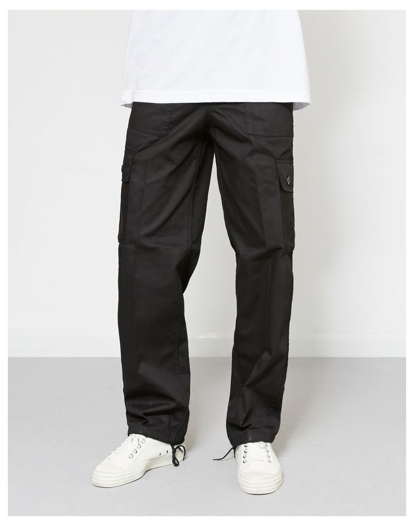 The Idle Man Cargo Trouser Black