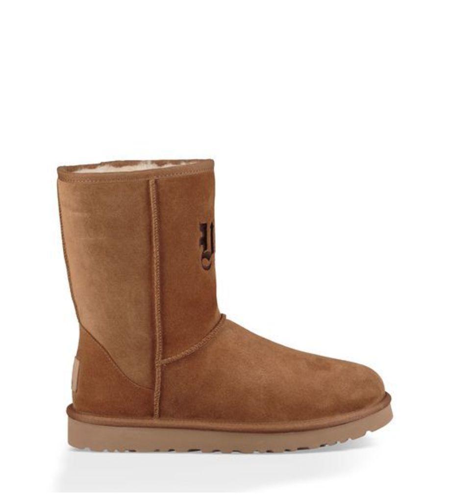 UGG Jeremy Scott Ugg Life Short Mens Boots Chestnut/Chocolate 7