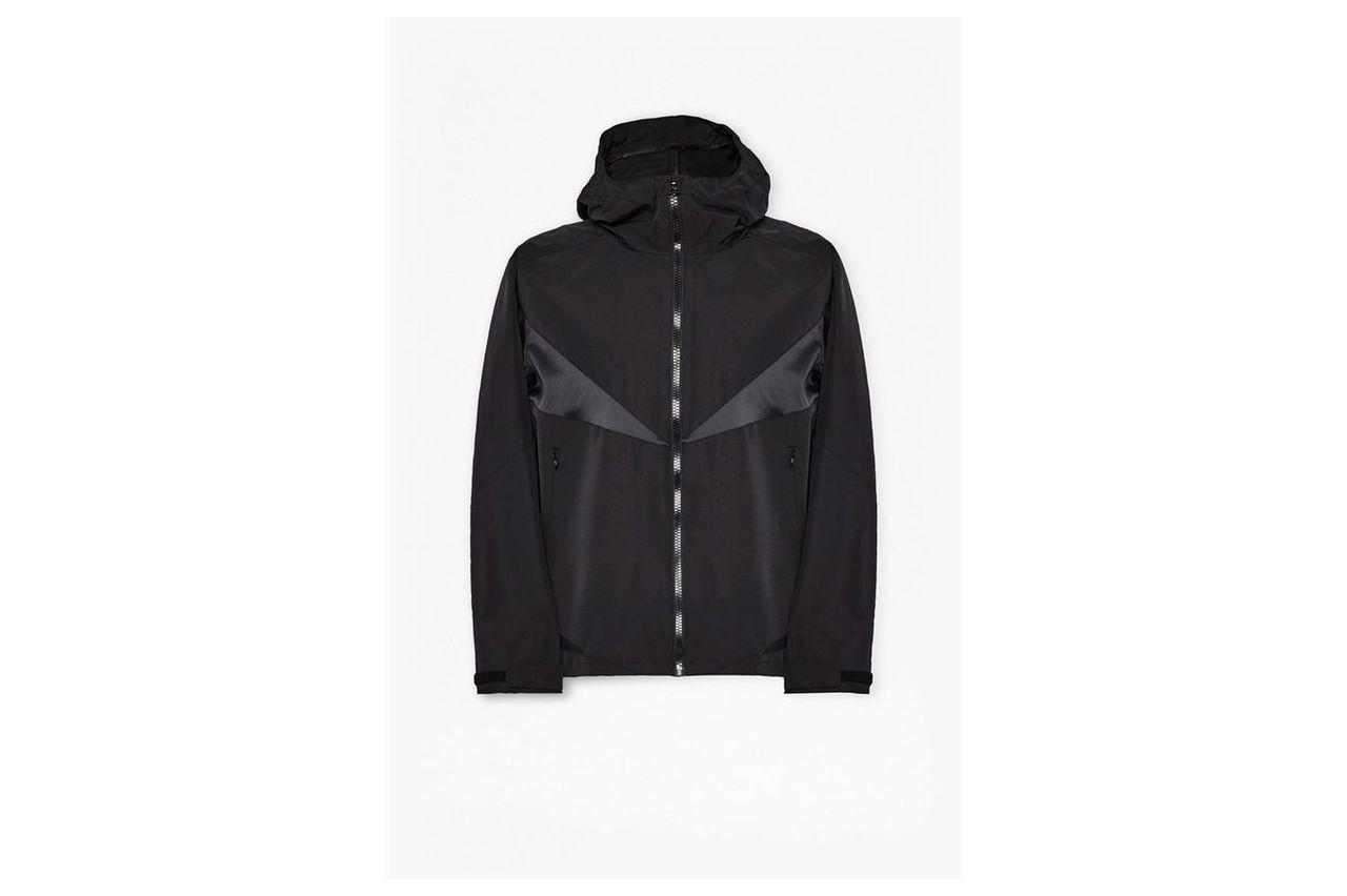 Ajura Murphy Nylon Hooded Jacket - black