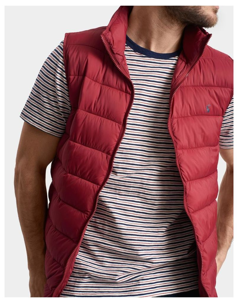 Rhubarb Go to Lightweight Gilet  Size L | Joules UK