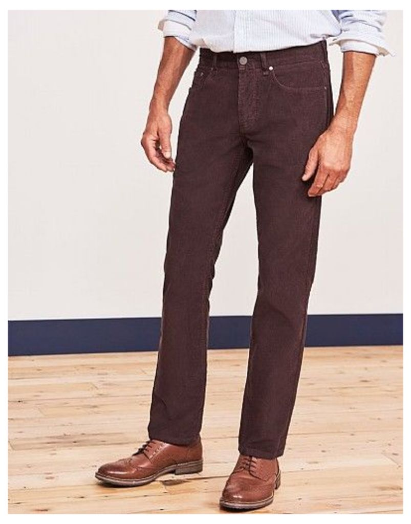 Parker Straight Cord Trousers