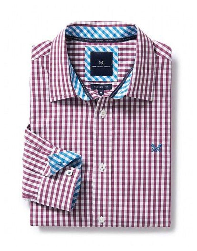Crew Classic Fit Gingham Shirt