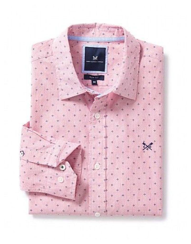 Talaton Slim Fit Print Shirt
