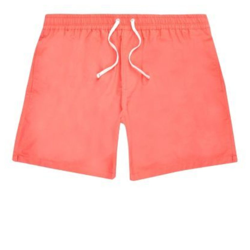 River Island Mens Orange swim shorts