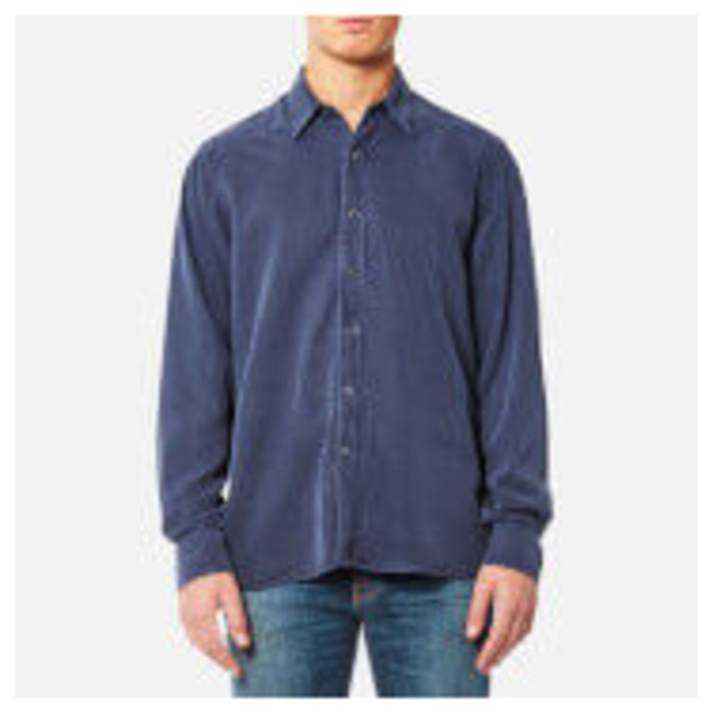 Our Legacy Men's Performance Long Sleeve Shirt - Liquid Turbo Blue - S - Blue