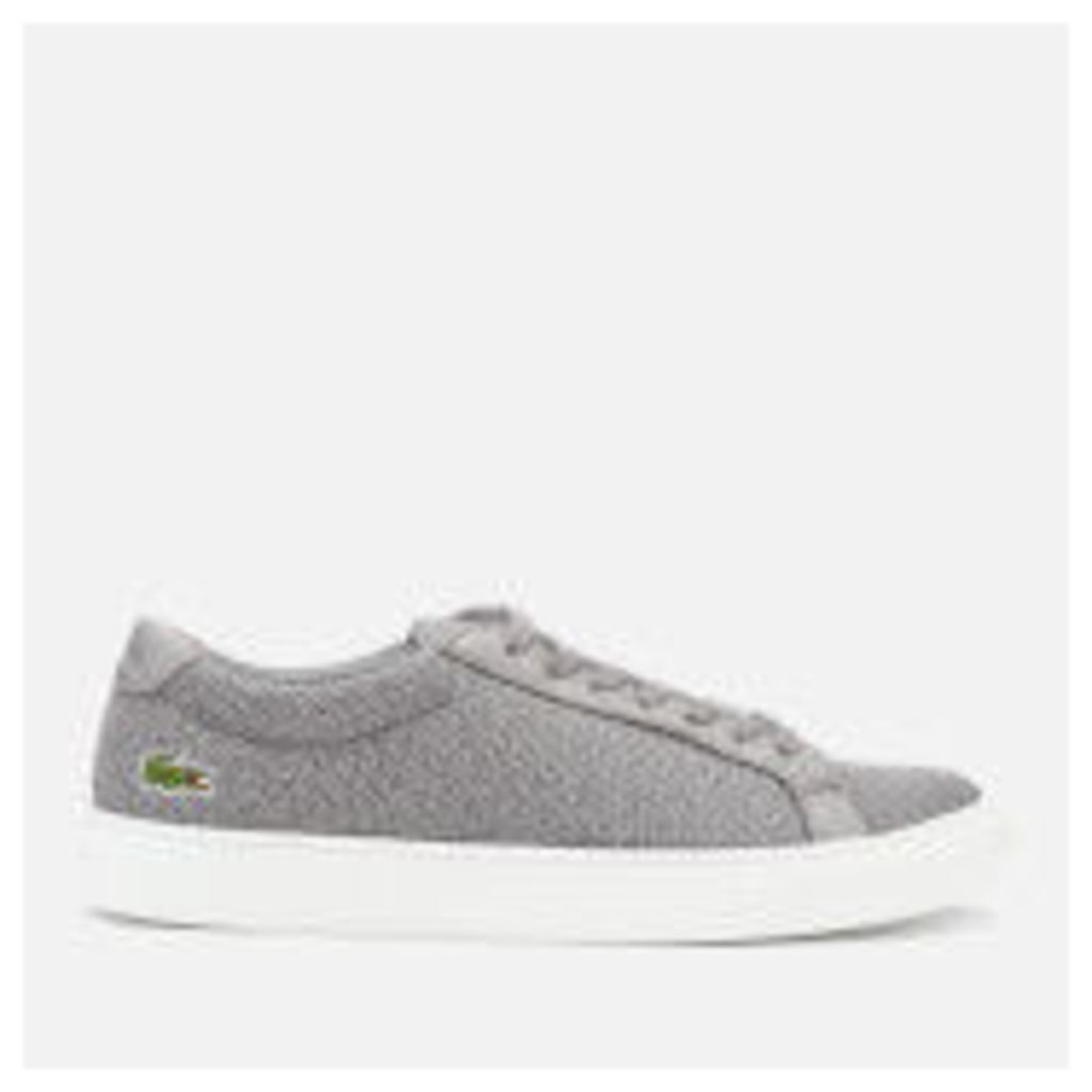 Lacoste Men's L.12.12 317 3 Trainers - Grey - UK 8 - Grey