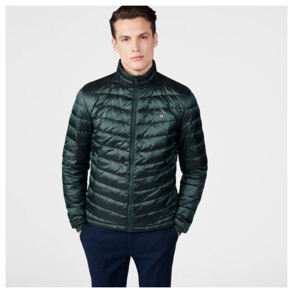 Airlight Down Jacket - Tartan Green
