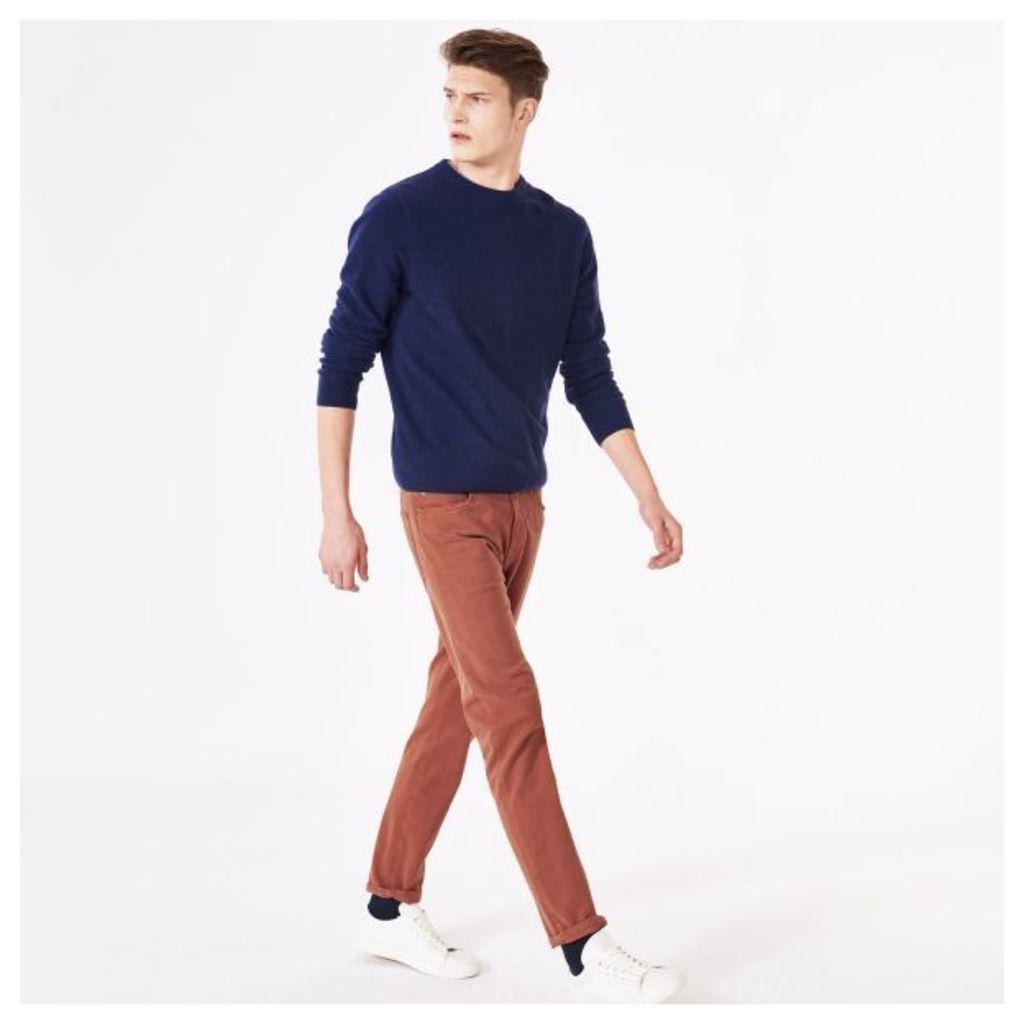 Slim Fit Moleskin Jeans - Dark Ochre