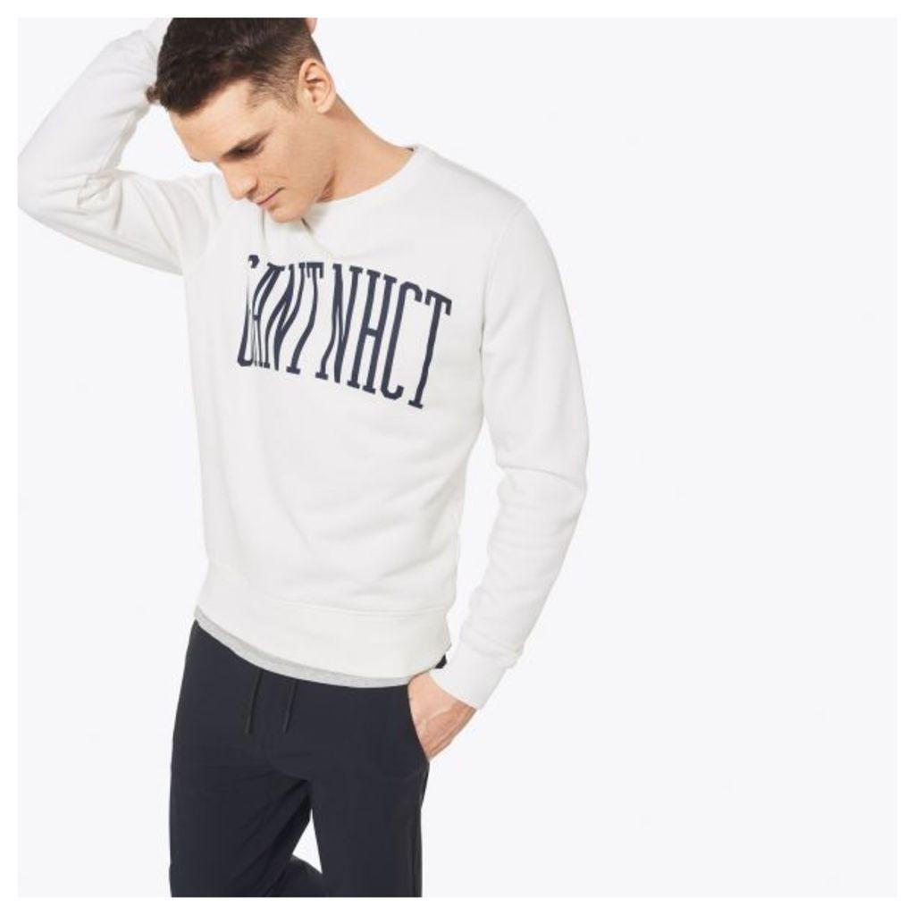 Nhct Crewneck Sweatshirt - Eggshell
