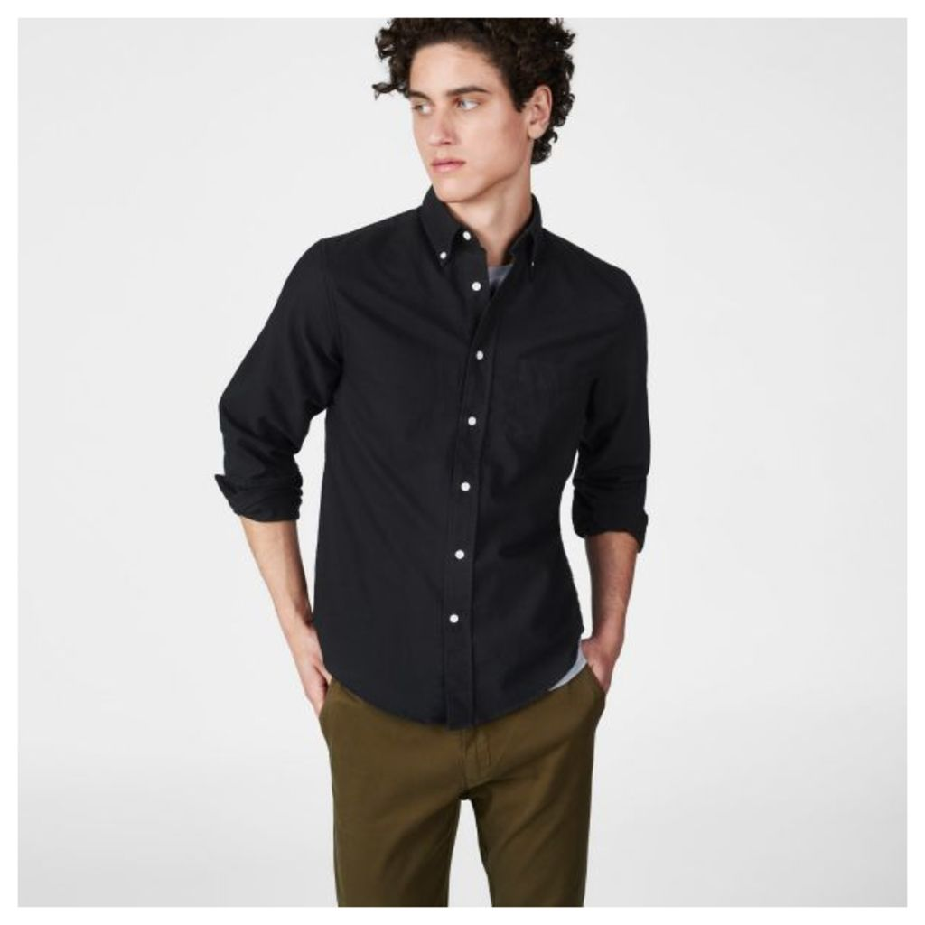 Kick-ass Oxford Slub Shirt - Black