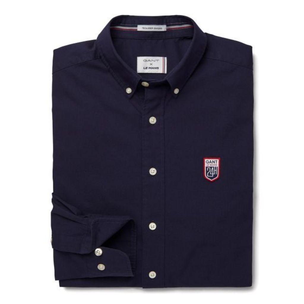 Le Mans Tech Prep™ Oxford Shirt - Evening Blue