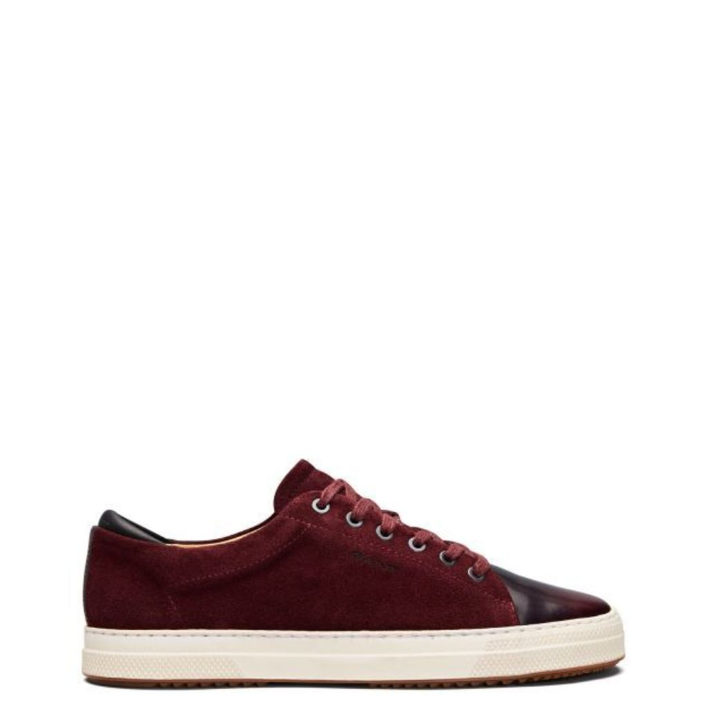 Star Sneakers - Port Red