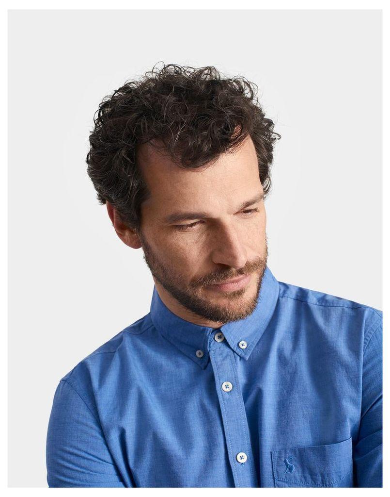 Blue Lambert Classic Fit Shirt  Size M   Joules UK