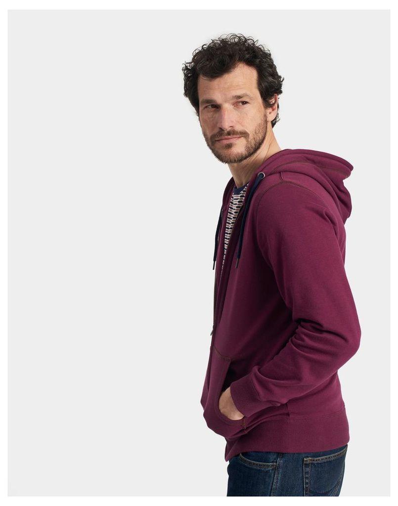 Plum Alnwick Hooded Sweatshirt  Size XL   Joules UK